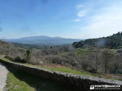 Cascadas de Gavilanes - Pedro Bernardo;viajes aventura tejo arbol rutas por la sierra de madrid